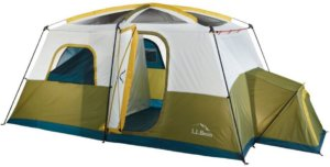 This photo shows the L.L.Bean Acadia 8-person Tent.