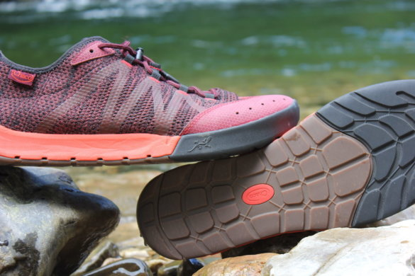 This photo shows a closeup of the Chaco Torrent Pro water shoes.