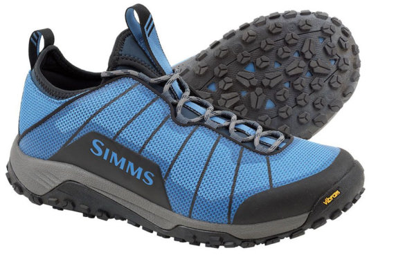 This photo shows the Simms Flyweight Wet Wading Shoe.