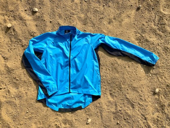 This photo shows the men's Showers Pass Ultralight Wind Jacket.