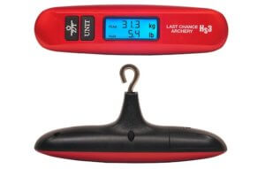 This archery bowhunting gift idea shows the Last Chance Archery Hs3 Bow Scale.