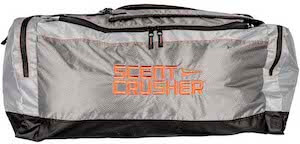 This bowhunting gift photo shows the Scent Crusher Ozone Gear Bag.