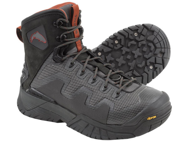 This photo shows the Simms G4 PRO men's wading boots.