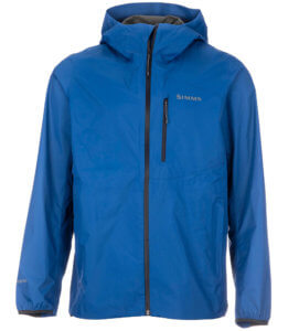 This photo shows the Simms Flyweight Shell Jacket.
