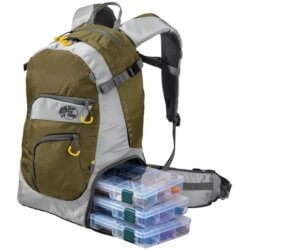 This photo shows the Bass Pro Shops Stalker Backpack.
