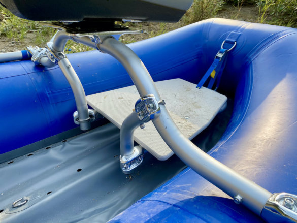 This photo shows a casting platform for the STAR Wonder Bug Raft.