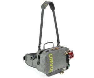 This photo shows the Orvis Waterproof Hip Pack.