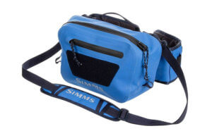 This fishing pack photo shows the Simms Dry Creek Z Hip Pack.