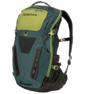 This best fishing backpack photo shows the Simms Freestone Backpack.