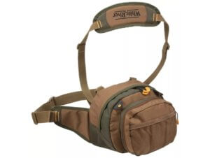 This photo shows the White River Fly Shop Aventur1 Lumbar Waist Pack.