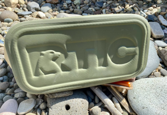 This photo shows the bottom the RTIC Tote Bag.