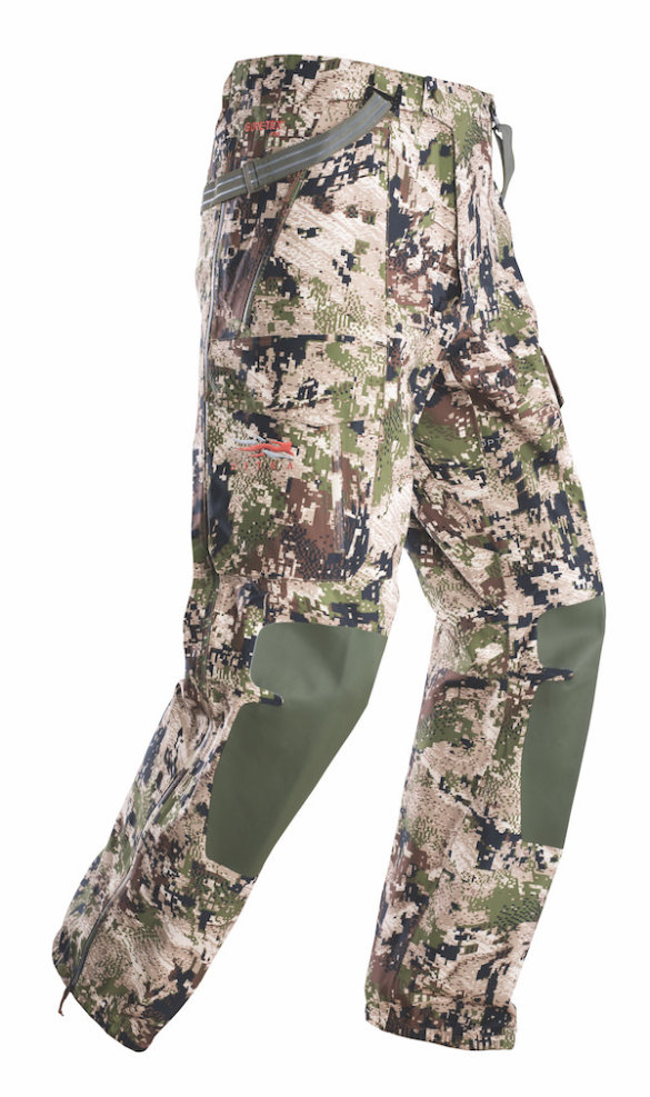 This photo shows the Sitka Stormfront Pant.