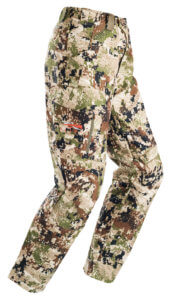 This photo shows the Sitka Mountain Pant.