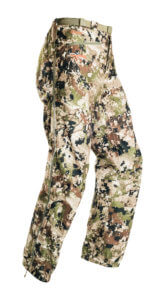 This photo shows the Sitka Thunderhead Pant.