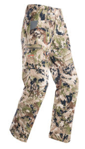 This photo shows the Sitka Traverse Pant.