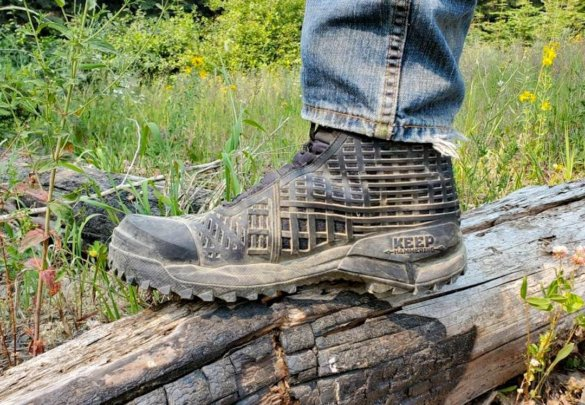 This photo shows the author wearing the Under Armour UA CH1 GORE-TEX Hunting Boots during the testing and review process.